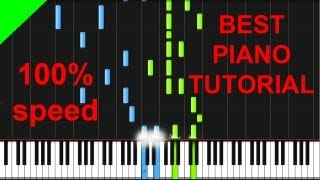 Akon - Ghetto piano tutorial