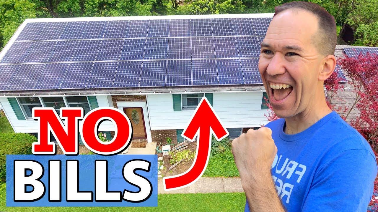 I Installed a Power Plant Myself | HUGE DIY Solar Panel System