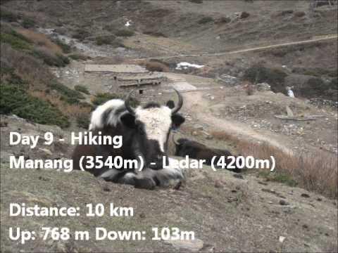 Nepal Trekking Annapurna 2011 (11 min)