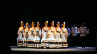 Música y baile ruso en Bastión del Carmen , Colonia