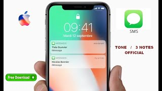 Iphone Tone SMS ringtone (sonnerie messages 3 notes)