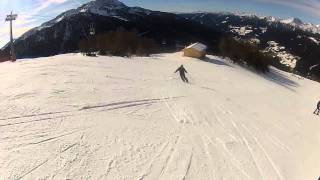Ski lesson with GoPro