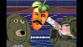 I tried making russian Hardbass and this is how it turned out