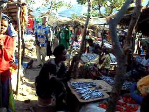 Market in Uvira, Democratic Republic of Congo