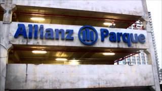 Allianz Parque - Letreiro luminoso Av. Francisco Matarazzo