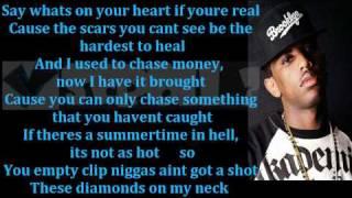 "Fabolous- ""That's Not Love"" ft Lil Wayne (LYRICS ON SCREEN)"