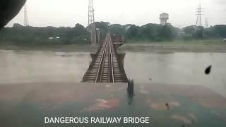 Most dangerous railway bridge