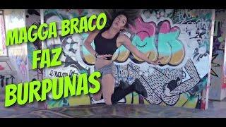 MAGGA BRACO faz BURPUNAS para BOMBUNAS - Rui Unas treino e humor