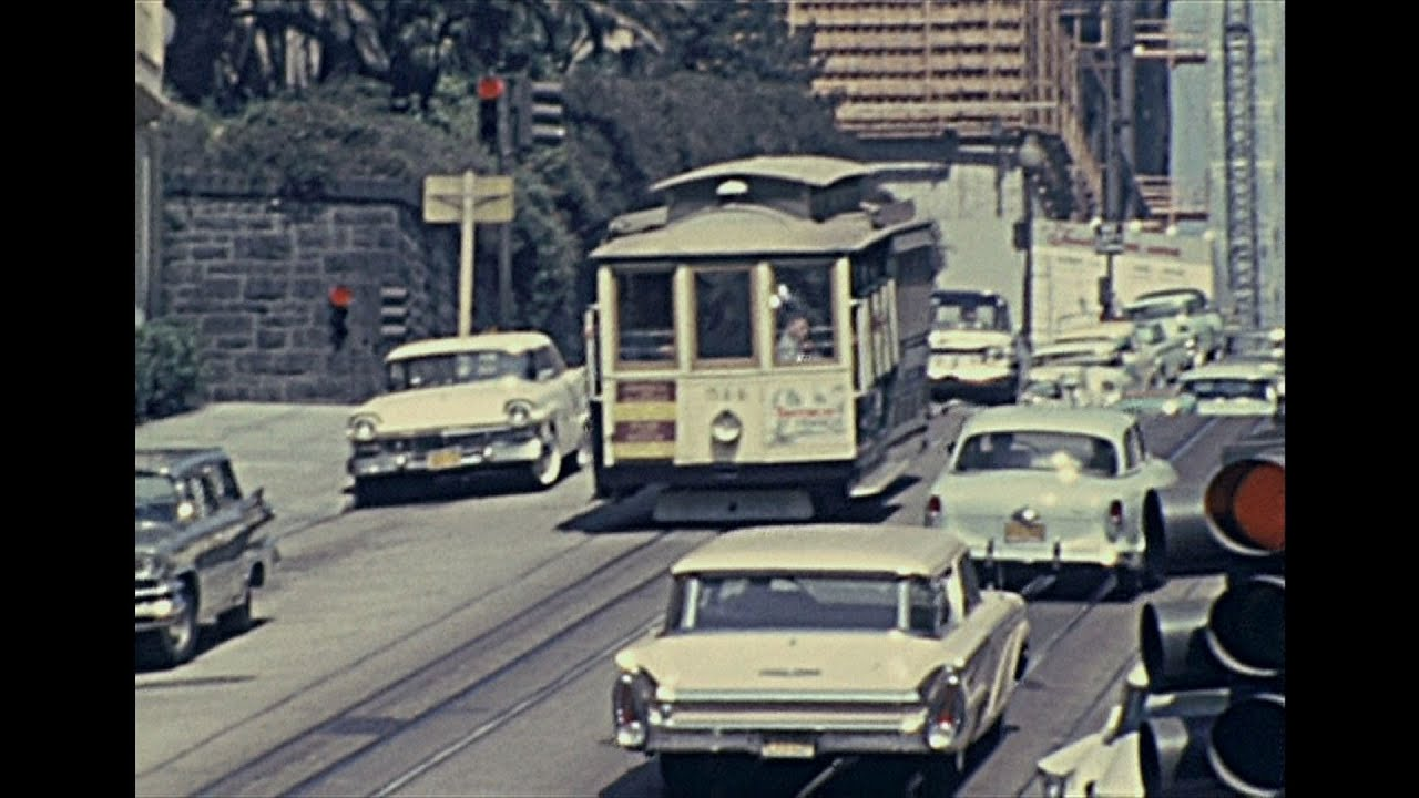 San Francisco 1962 - Archive Footage