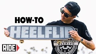 How-To Heelflip - BASICS with Spencer Nuzzi