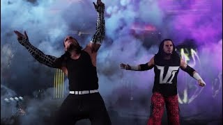 WWE2K18 Hardy Boyz Entrance No More Words For The Moment