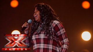 Watch Karen Mav sing Etta James' I'd Rather Go Blind | The 6 Chair Challenge | The X Factor UK 2015