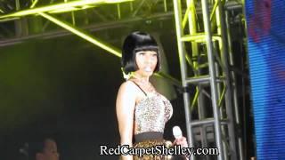 Nicki Minaj at Jamaica Reggae Sumfest 2011