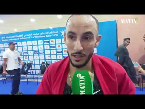 Video : Brahim Kaazouzi remporte l'épreuve de 1.500m