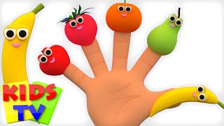 Fruits Finger Family   Learn Fruits   Fruits Song   Nursery Rhymes