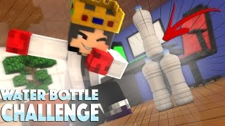 O MITO DO DESAFIO DA GARRAFA NO MINECRAFT | Water Bottle Flip