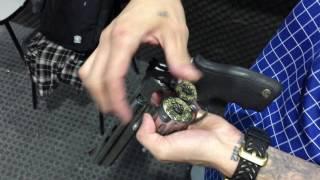 Atirando com Revolver Taurus RT838 .38 Special  8 tiros !!!