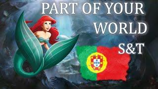 Part of your world [European Portuguese] subs & trans