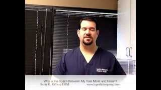 Why Is the Space Between My Toes Moist and Green? - An Answer From An Indianapolis Podiatrist