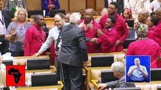Big Fight In Parliament After Julius Malema Speech
