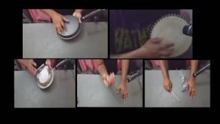 Estudo de sons - Percussão e cozinha PercLab