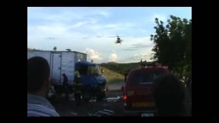 Acidente na BR 070 Girassol