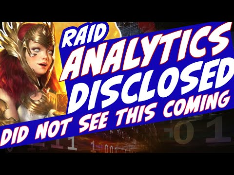 Raid analytics disclosed! Will surprise you. Analytics from the company Raid shadow legends