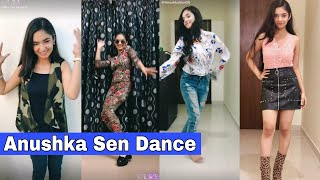 Anushka Sen Latest Dance LIKE APP Videos   Anushka Sen Dance Videos