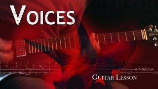 Voices - Alice in Chains | How to play the song and Solo
