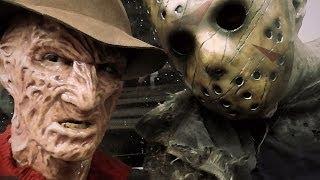 Freddy Krueger and Jason Voorhees in Real Life (Cosplay)
