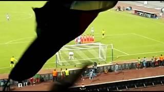 Punizione Mertens Napoli -Benfica HD live curva B