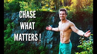 Aesthetic Fitness Motivation - CHASE WHAT MATTERS !