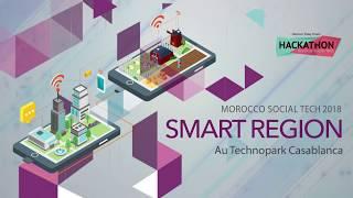 """Hackathon Morocco Social Tech """"Smart Région"""" : Top départ !"""