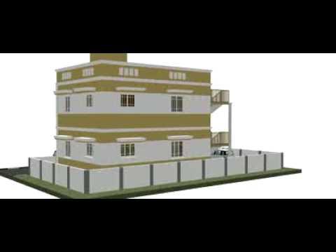 HOUSE DUPLEX ELEVATION PLAN