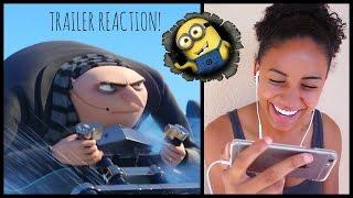 Despicable Me 3 Official Trailer Reaction!