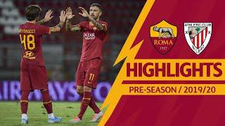 Roma v Athletic Club 2-2 MATCH HIGHLIGHTS | 2019-20 PRE-SEASON