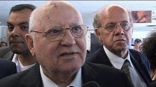 """Mikhaïl Gorbatchev sur la Syrie: """"Il faut agir avec un mandat de l'ONU"""" - 04/09"""