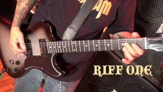 """Pentagram """"Walk in the Blue Light"""" guitar lesson for PlayThisRiff.com"""