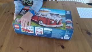 Lego VW T1 Camper Van Set Number 10220