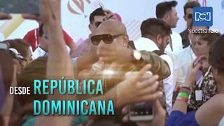 Farina y Emiliano de VI-EM recorren Cap Cana previo a Los Premios Heat