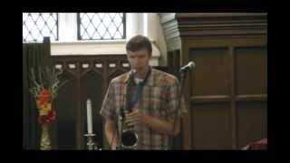 Solo Tenor Sax (slap tonguing) - Derek Brown