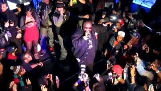 Rick Ross performing MC Hammer