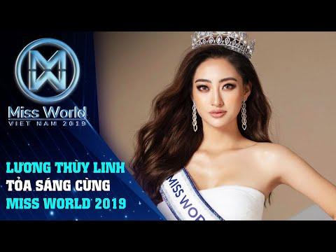 Hoa Hậu Lương Thùy Linh đến với Miss World 2019