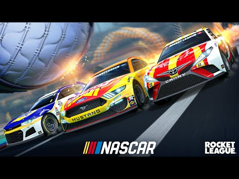 WTFF::: NASCAR fan pack coming to Rocket League this week as part of new multi-year partnership with Psyonix
