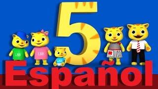 Los números 5, 10, 15, 20 | Canciones infantiles | LittleBabyBum