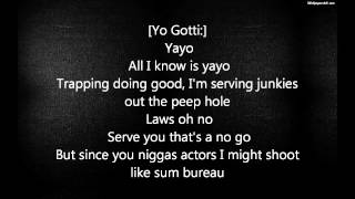 Snootie Wild - Yayo (lyrics) ft. Yo Gotti - Lyrics Video