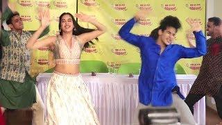 Jhanvi Kapoor And Ishaan Khattar Dance Crazily On New Song Zingat From Dhadak