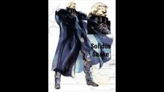 Metal Gear Solid 2 Solidus Snake Theme (Boss Fight)