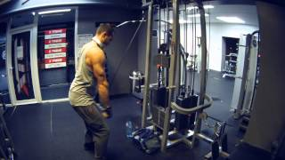 Back and Biceps Bodybuilding Workout Motivation