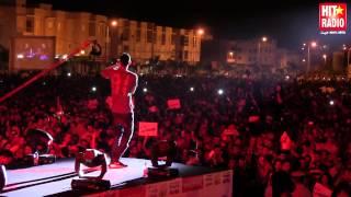 Reportage Live La Fouine au Festival Rai d'Oujda 2014 avec HIT RADIO